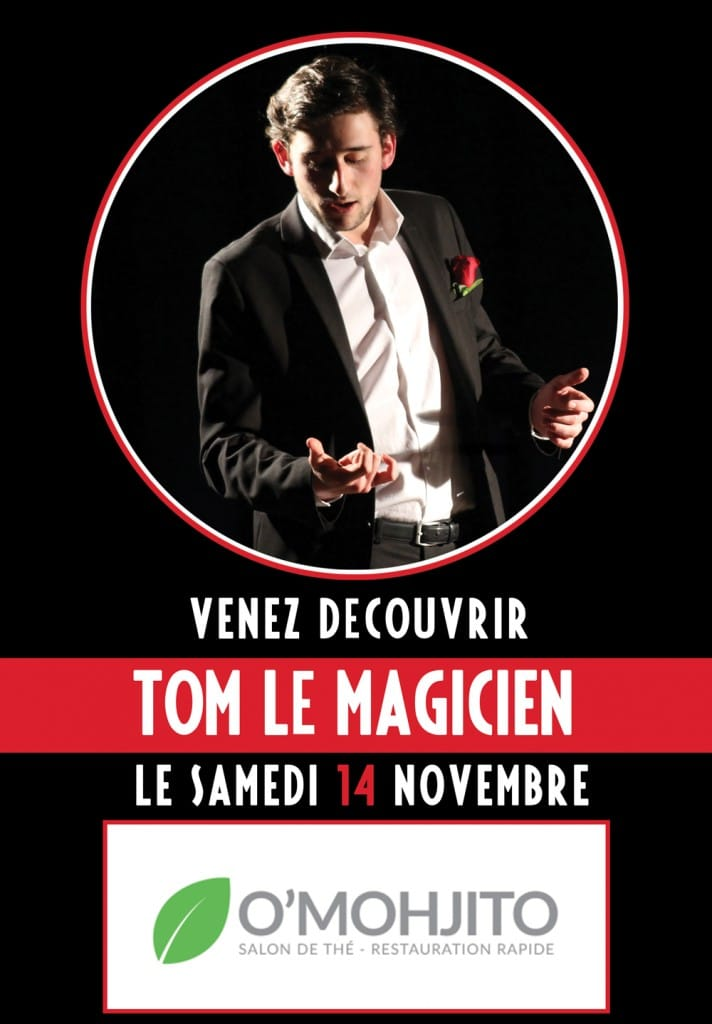 Tom Le Magicien - Bar Lens