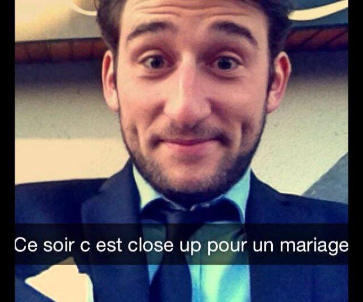 Tom le Magicien - Cocktail de Mariage au Domaine Des Charmes.