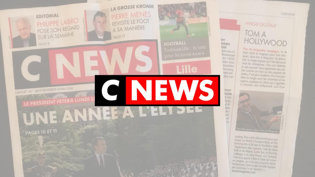 Cnews - Tom Le Magicien