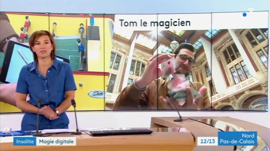 Magicien Nord sur France 3