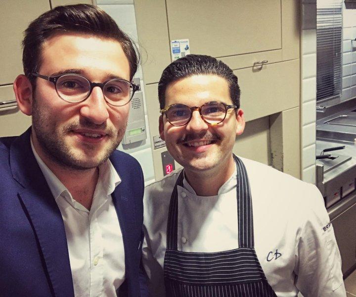 Tom le Magicien avec Camille Delcroix gagant de Top Chef sur M6