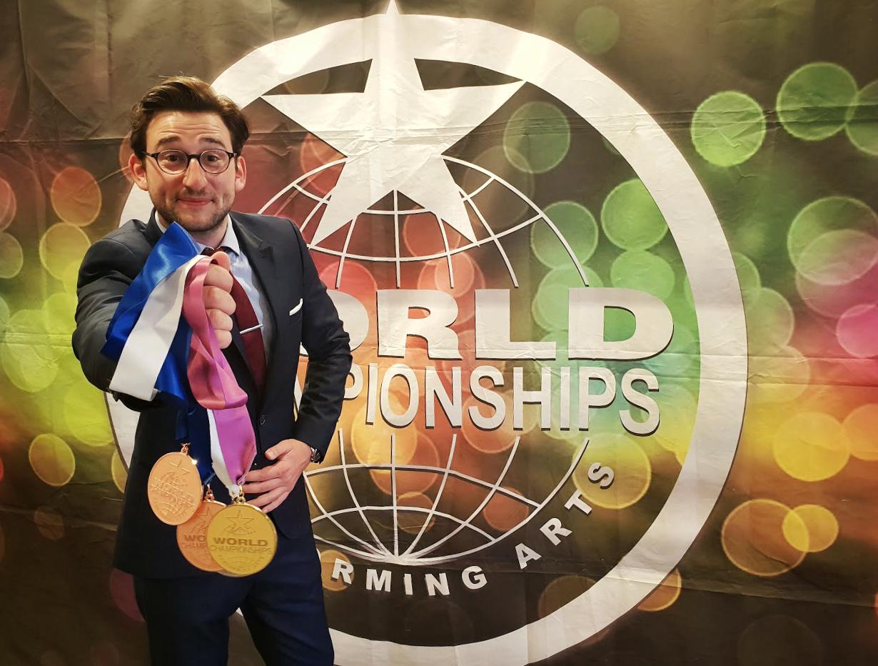 Magicien Lille - Médaillé d'Or à Hollywood